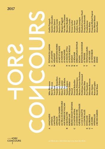 Extraits Prix Hors Concours 2017 |