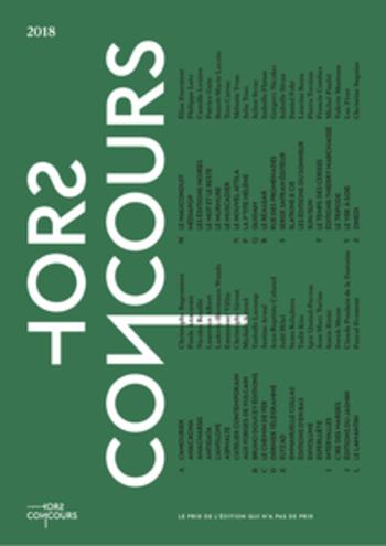 Extraits Prix Hors Concours 2018 |