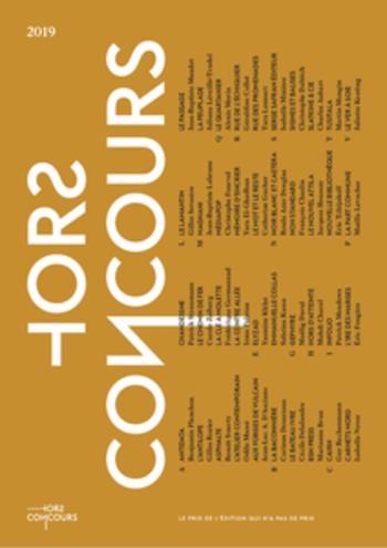 Extraits Prix Hors Concours 2019 |