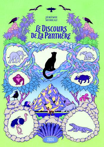 Le discours de la panthère | Moreau, Jérémie